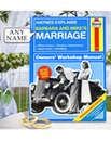 Personalised Haynes Marriage Manual