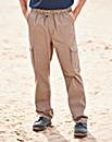 Premier Man Khaki Cargo Trousers