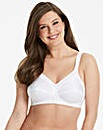 Triumph Doreen Cotton White Bra