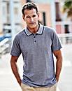 Premier Man Blue Stripe Polo Shirt R