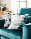 Watercolour Lines Cushion