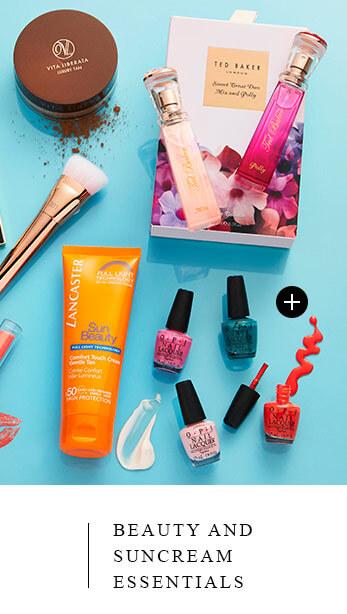 Beauty and Suncream Essentials
