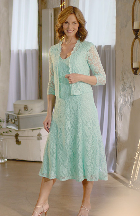 nightingales occasion lace dress