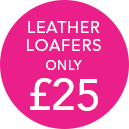 Leather Loafers only £25