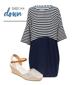 Skinny Dress Down