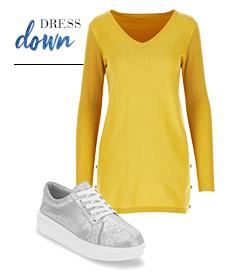 Straight Dress Down