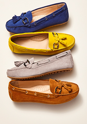 Supersoft Suede Loafer