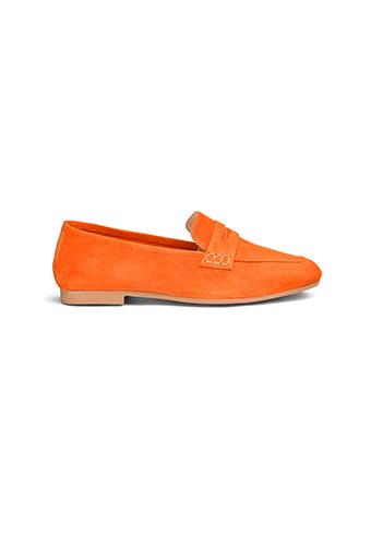 Premium unstructured suede loafers