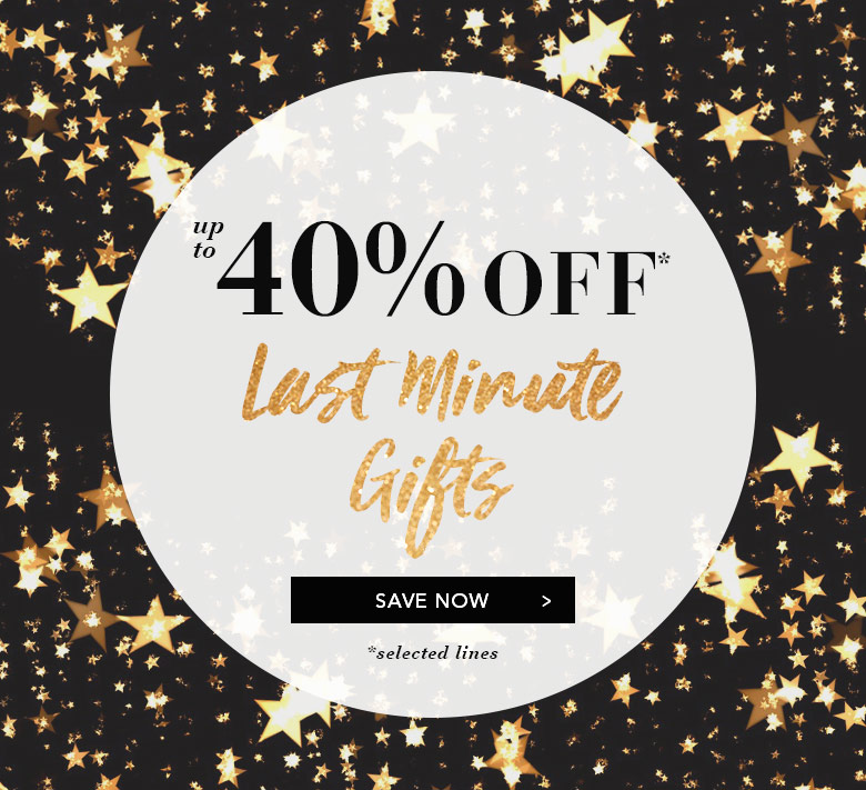 40% Off Last Minute Gifts