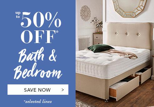 50% Off Bath & Bedroom