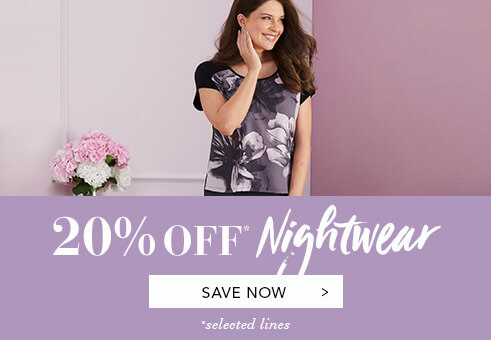 20% Off Nightwear