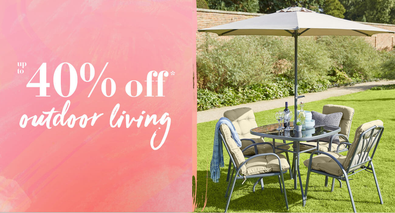 40% Off outdoor living