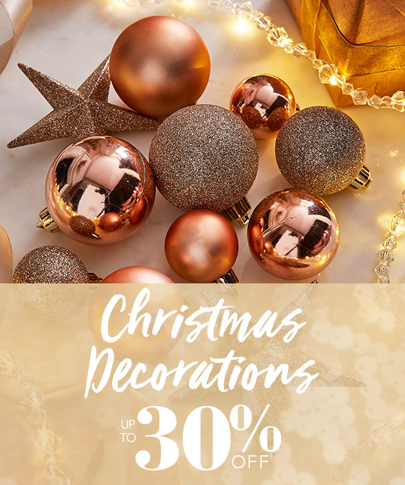 Christmas Decorations Sale - Up to 30% Off