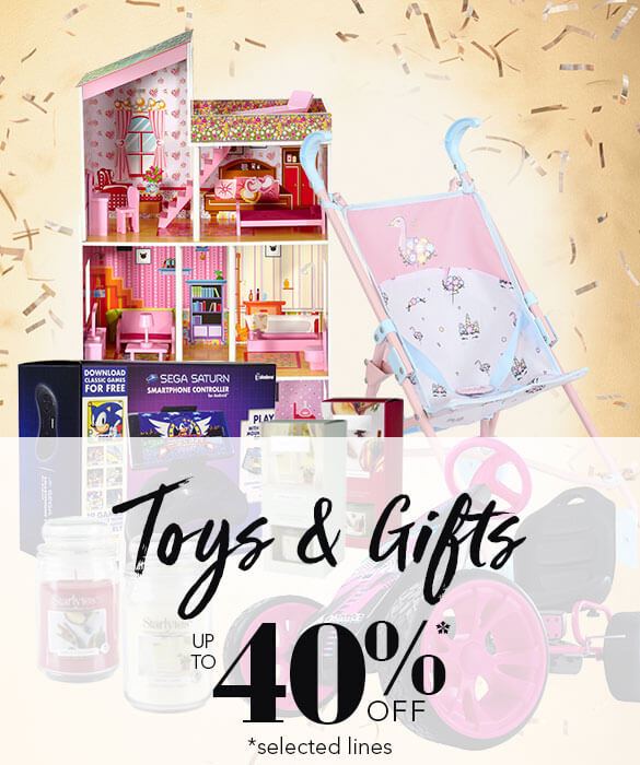 Toys & Gifts Sale - Up to 30% Off