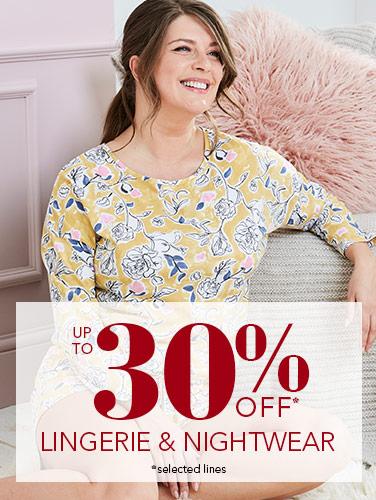 Flash Sale - Lingerie and Nightwear