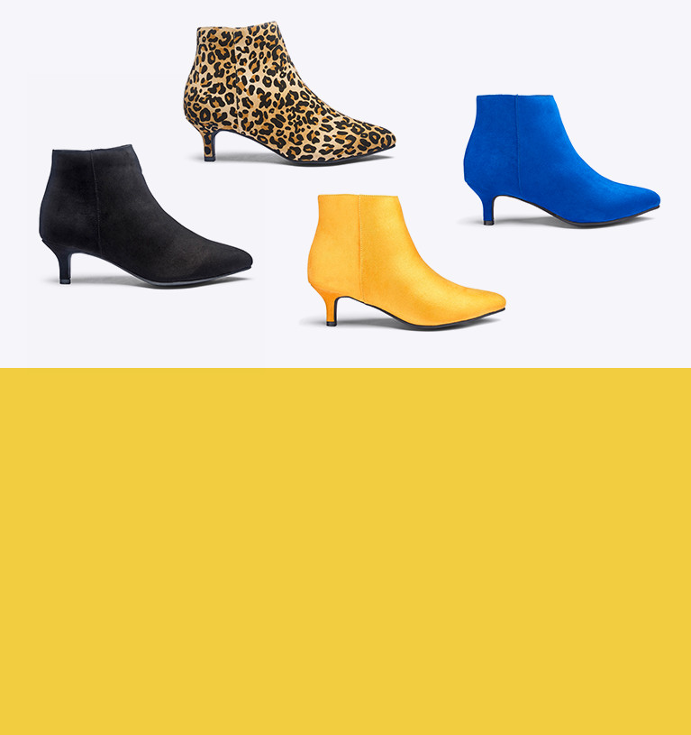 Ankle Boots £25 & Under