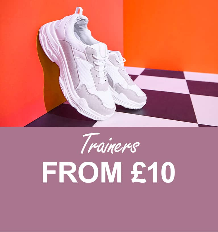 Trainers from £10