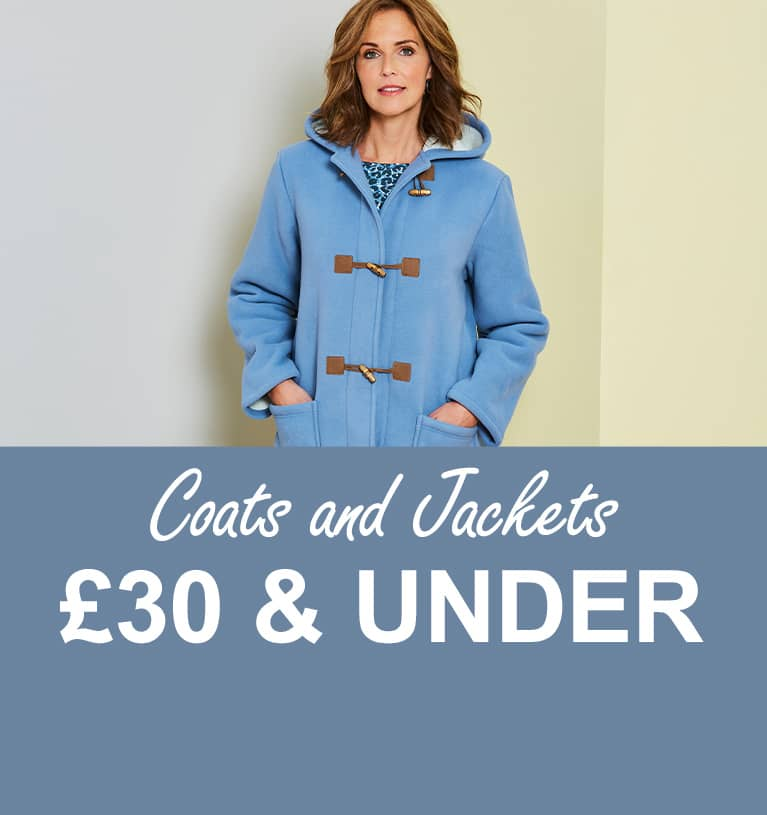 Coats and Jackets £30 and under