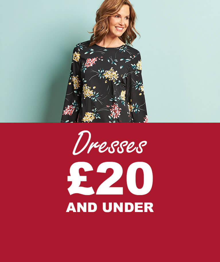 Dresses £20 and under
