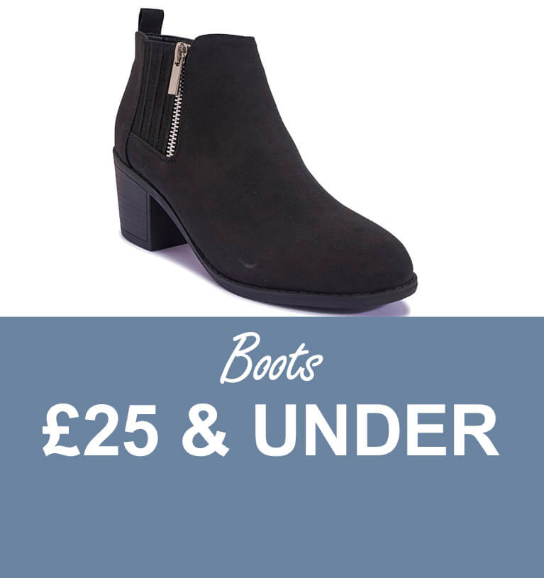 Boots £25 and under