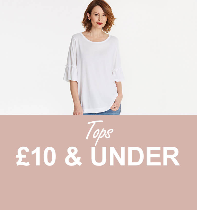 Tops £10 and under