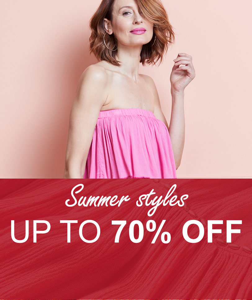 Summer styles up to 70% off