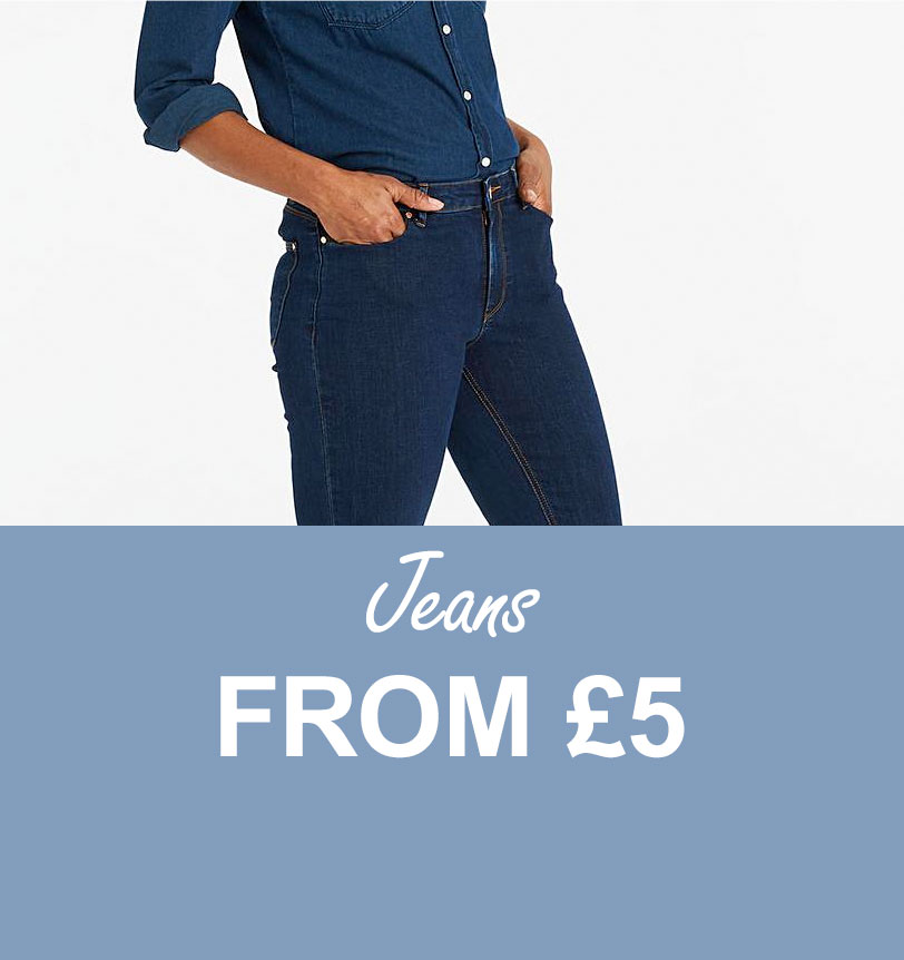 Jeans from £5