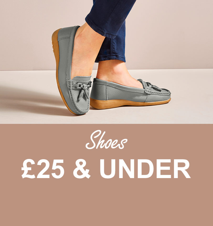 Shoes £25 & under