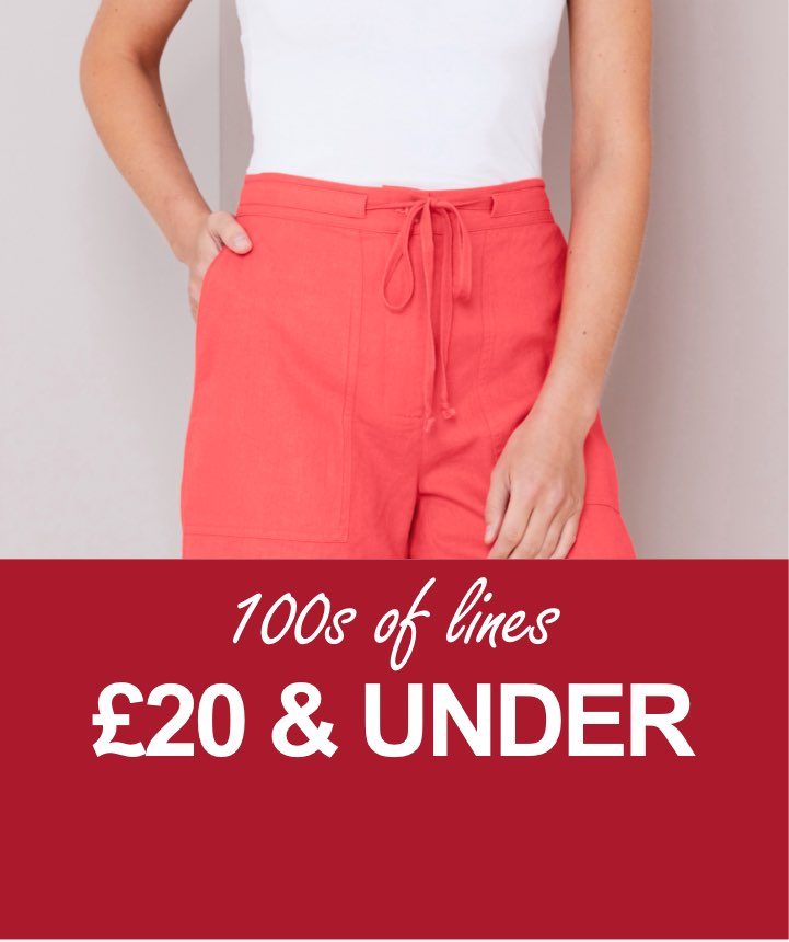 100s of lines £20 & under