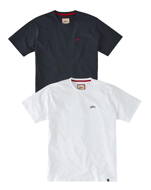 Joe Browns - 2 Pack Logo T-Shirt