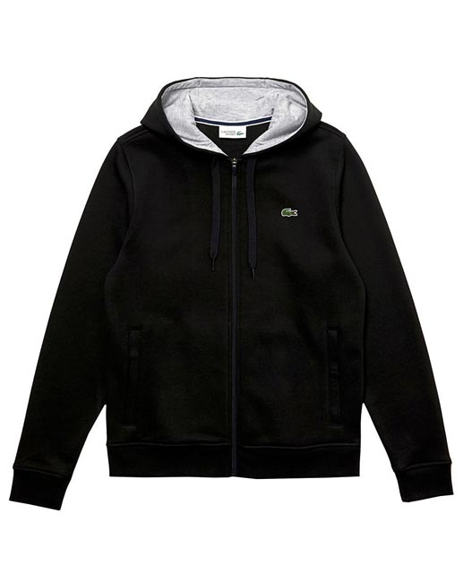 Lacoste Zip Through Hooded Sweat