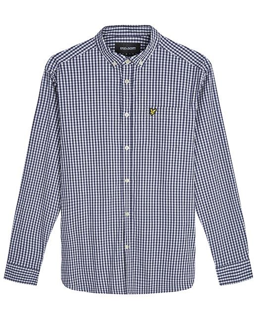 Lyle & Scott Gingham Check Shirt