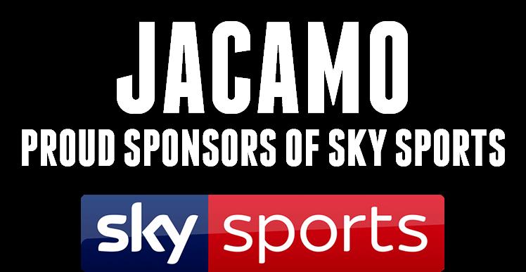 Jacamo Proud Sponsors of Sky Sports