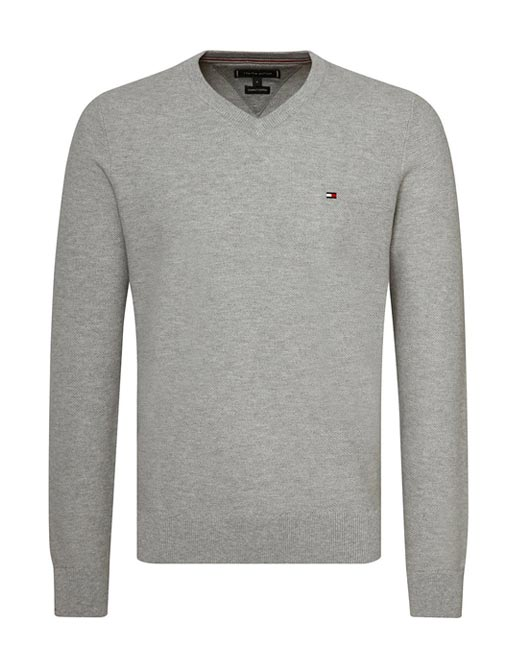Tommy Hilfiger Mighty V-Neck Fine Knit Jumper
