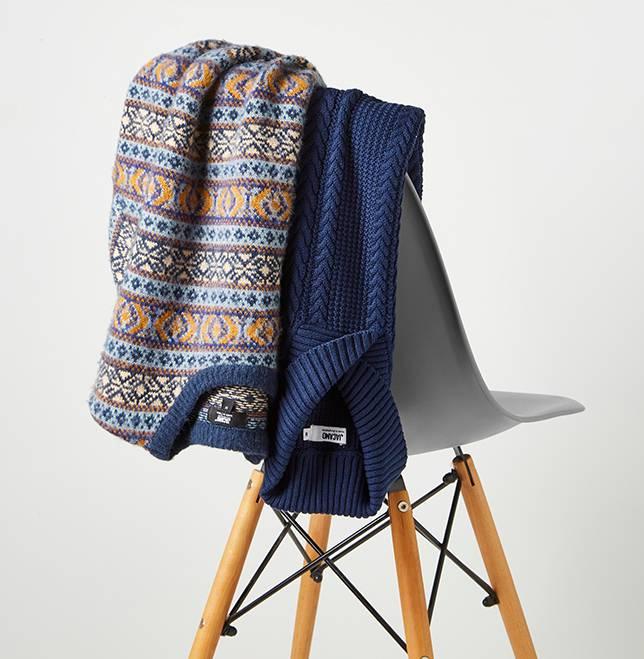Shop knitwear.