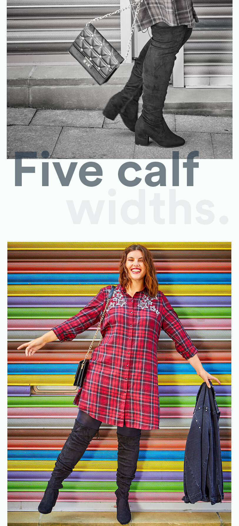 five calf widths
