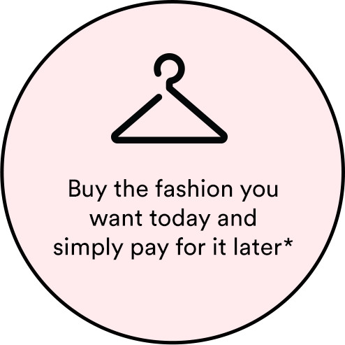 Get the fashion you want today and pay for it later