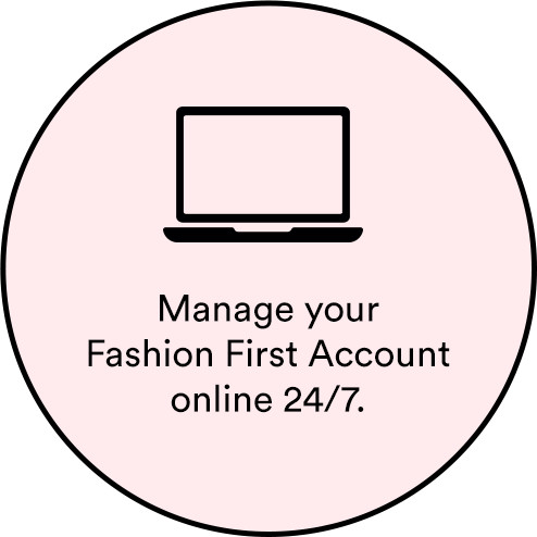 Manage your account online 24/7