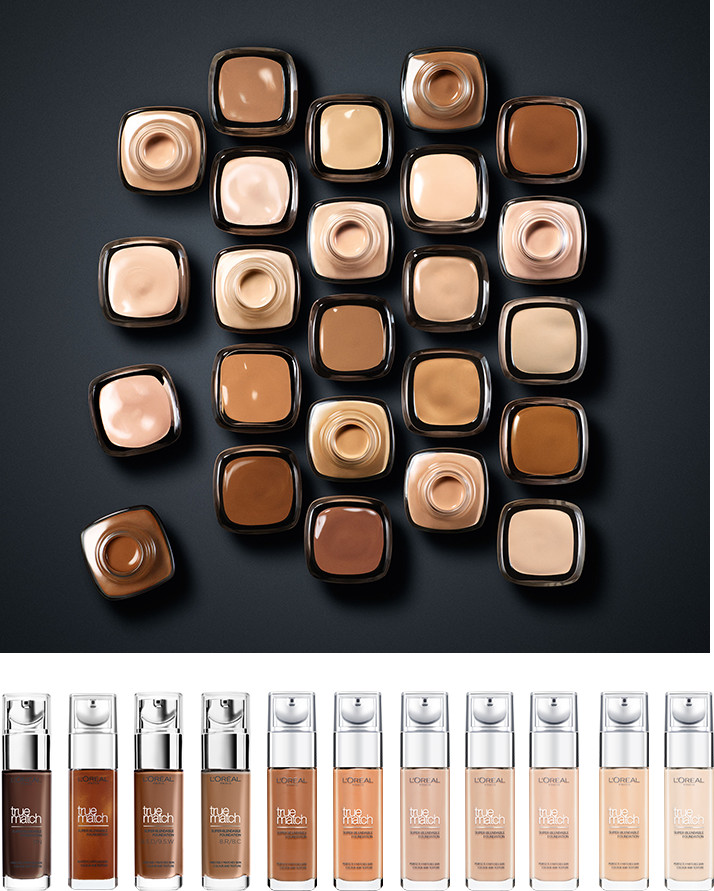 Foundation shades