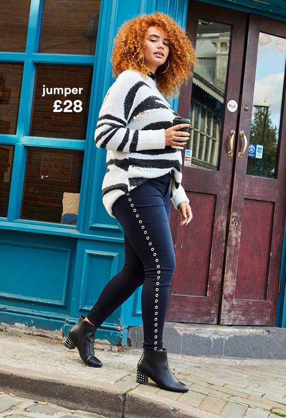 Zebra Knit