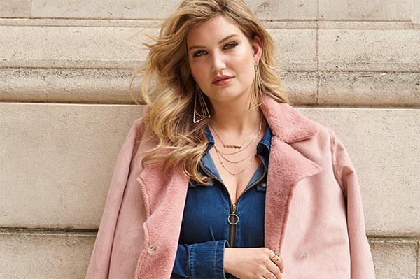 model shot puffer coat