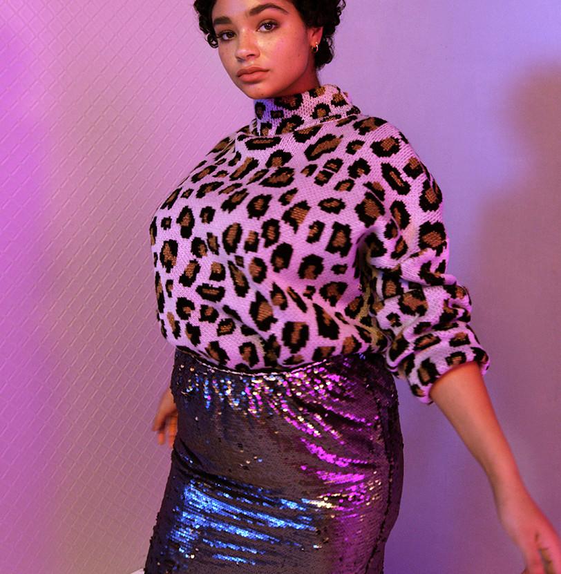 The Sequin Skirt