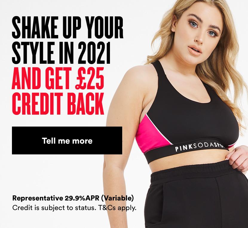>£50 credit back