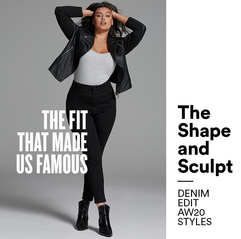 Shape & Sculpt | the fit that made us famous