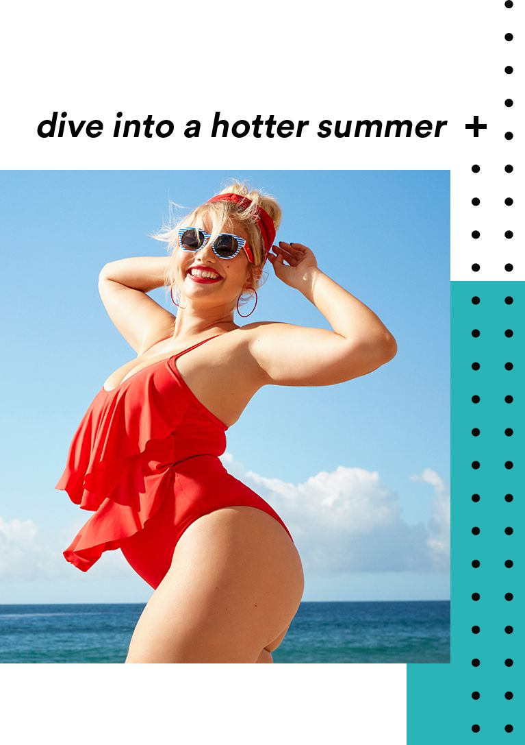 dive into a hotter summer