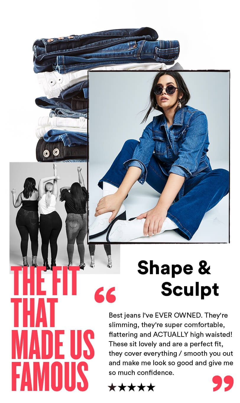 Shape & Sculpt | the fit that nade us famous