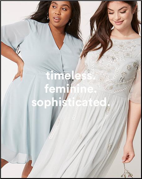 timeless. feminine. sophisticated.