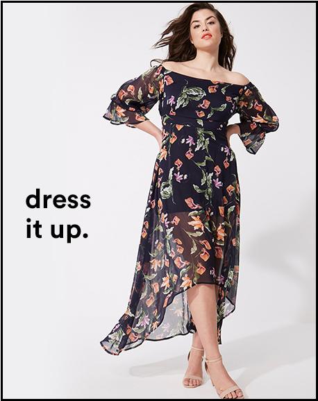 dress it up.