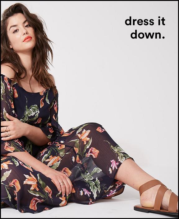 dress it down.
