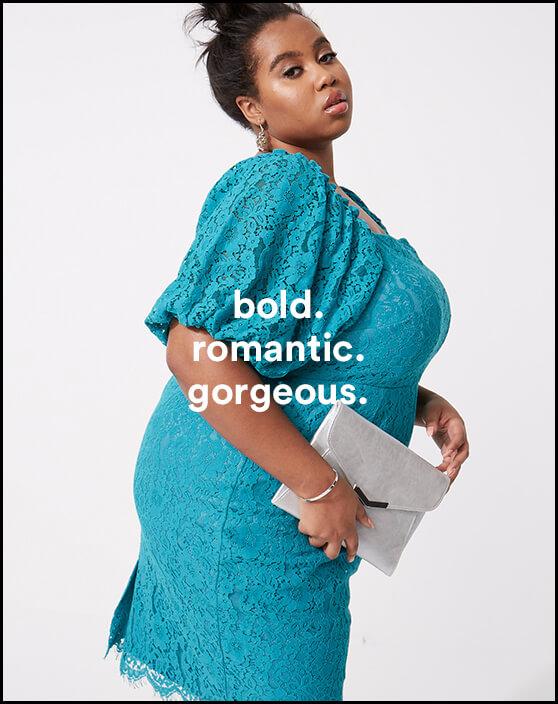 bold. romantic. gorgeous.